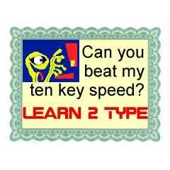 10-key speed